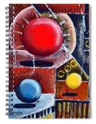 Levitate Spiral Notebook