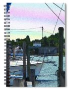 Lewes Canal Late Morning Spiral Notebook