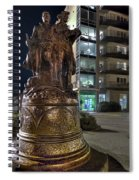 Lewis And Clark At The End Of The Trail -- Oregon State Coast Spiral Notebook