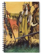 Lewis And Clark Expedition Scene Spiral Notebook