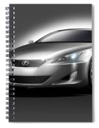 Lexus Spiral Notebook