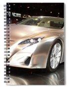 Lf-a Driver Spiral Notebook