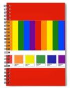 Lgbt Pantone Spiral Notebook