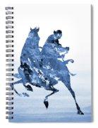 Li Shang-blue Spiral Notebook