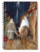 Liberty - Arriving In Bethlehem Spiral Notebook