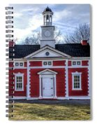 Liberty Bond House Spiral Notebook