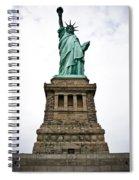 Liberty Enlightening The World Spiral Notebook