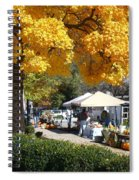 Liberty Farmers Market Spiral Notebook