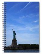Liberty Island Statue Of Liberty Spiral Notebook