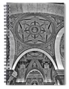 Library Of Congress Arches And Murals Spiral Notebook
