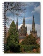 Lichfield Cathedral Spiral Notebook