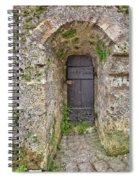 Lichtenstein Castle Door Spiral Notebook