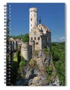Lichtenstein Castle Spiral Notebook