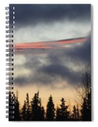 Licorice In The Sky Spiral Notebook