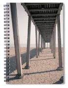 Lido Beach In Spring Spiral Notebook