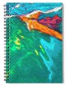 Lies Beneath Spiral Notebook