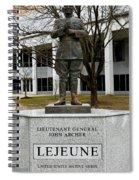 Lieutenant General John Archer Lejeune Spiral Notebook