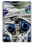 Lieutenant General Thomas P. Stafford  V6 Spiral Notebook