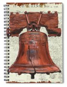 Life And Liberty Spiral Notebook