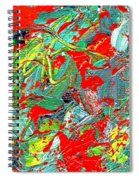 Life Energy Five  Spiral Notebook