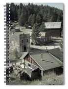 Life In A Ghost Town Spiral Notebook