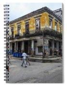 Life In Old Town Havana Spiral Notebook
