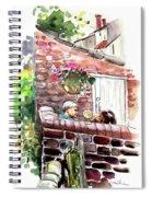 Life In Robin Hoods Bay Spiral Notebook