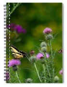 Life In The Meadow Spiral Notebook