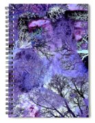 Life In The Ultra Violet Bush Of Ghosts  Spiral Notebook