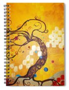 Life Is A Ball Spiral Notebook