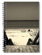 Life Is A Beach Spiral Notebook
