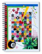 Life Is A Puzzle Spiral Notebook