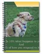 Life Is A Warm Summers Breeze Spiral Notebook