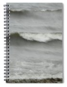 Life Is Like A Wave Spiral Notebook
