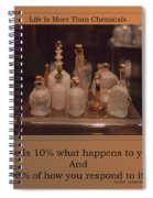 Life Is More Than Chemicals Spiral Notebook