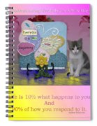 Life Is Understanding Everyday Is A New Beginning Spiral Notebook