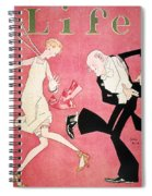 Life Magazine Cover, 1926 Spiral Notebook