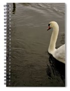 Life Of Swans. Spiral Notebook