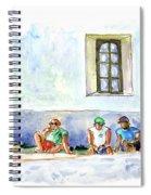 Life On Culatra Island Spiral Notebook