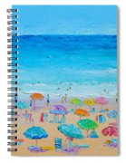 Life On The Beach Spiral Notebook