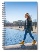 Life On The Edge Spiral Notebook