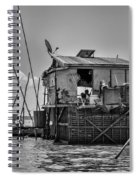 Life On The Lake Spiral Notebook