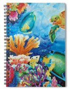 Life On The Ledge Spiral Notebook