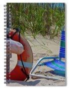 Life Saver Spiral Notebook