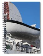 Lifeboat On Queen Mary Spiral Notebook