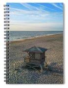 Lifeguard Hut Spiral Notebook
