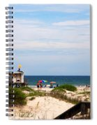 Lifeguard On Duty Spiral Notebook