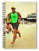 Lifeguard Runners Spiral Notebook