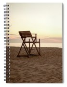 Lifeguard Stand Spiral Notebook