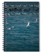 Life's Lessons Spiral Notebook